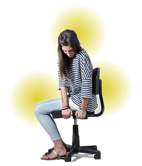 problemas espalda silla