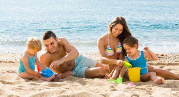 Prevención de cáncer de piel en los niños